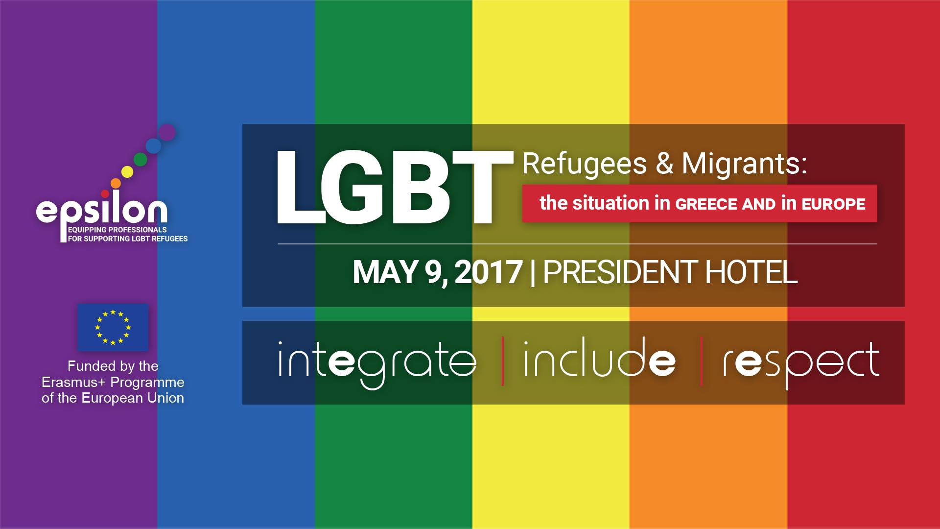 """""""LGBT Refugees and Migrants: the situation in Greece and in Europe"""" International Conference"""